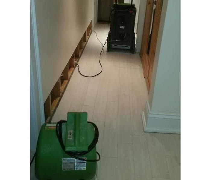 Water Damage in Stately Southampton Home Before
