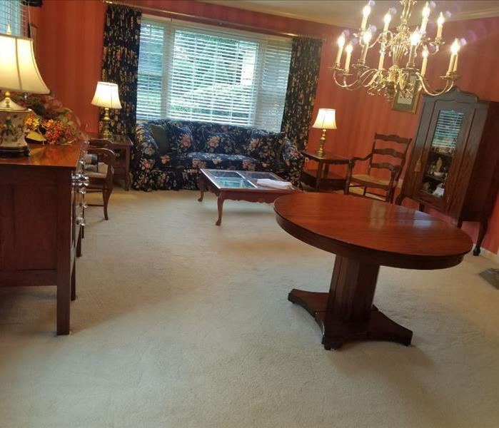 Soot Removal, Carpet and Upholstery Cleaning in North Fork Home After