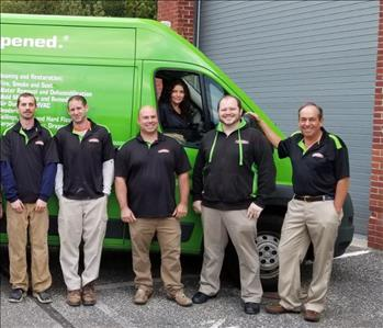 SERVPRO of The East End Team Photo