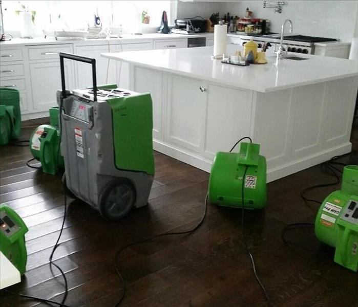 Water Damage in Hamptons House