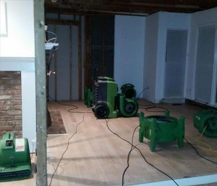 Water Damage in Southampton Home