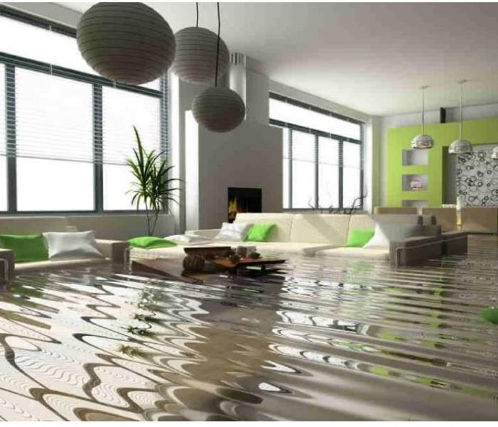 Water Damage SERVPRO of The East End for 24 Hour Emergency Water Damage Service